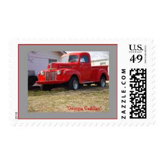 """Georgia Cadillac"" Postage Stamps"