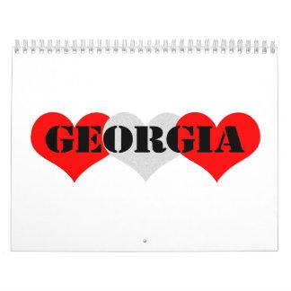 Georgia Calendarios