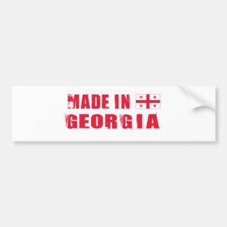 GEORGIA CAR BUMPER STICKER