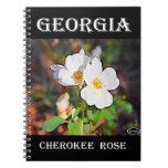 Georgia Cherokee Rose Note Books