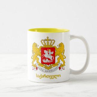 Georgia COA Two-Tone Coffee Mug