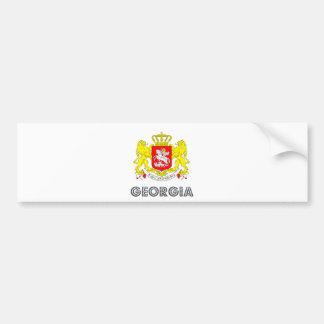Georgia Coat of Arms Bumper Sticker
