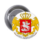 Georgia Coat Of Arms Buttons