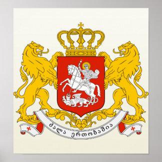 Georgia Coat of Arms detail Poster