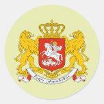 Georgia Coat of Arms detail Sticker