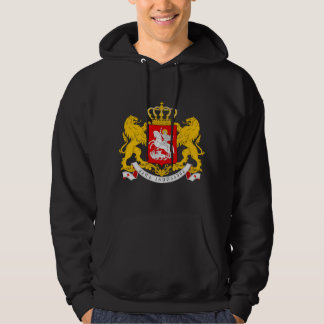 Georgia Coat of arms GE Hooded Pullover