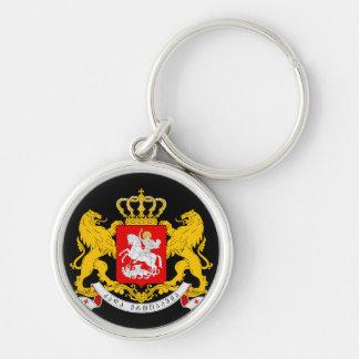 georgia coat of arms keychain