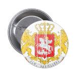 Georgia Coat Of Arms Pinback Buttons