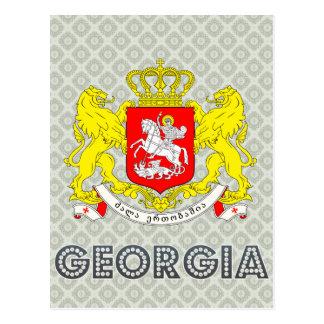 Georgia Coat of Arms Postcard