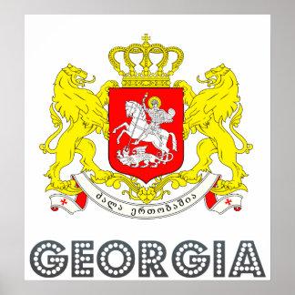 Georgia Coat of Arms Print