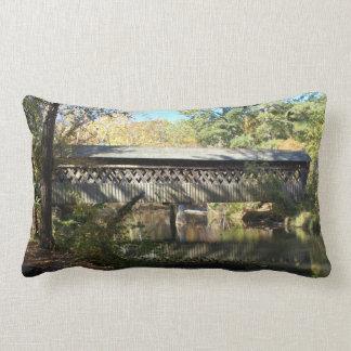 Georgia Covered Bridges Reversible Lumbar Pillow