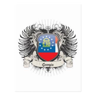 Georgia Crest Postcard