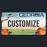 """Georgia Custom License Plate<br><div class=""""desc"""">Customizable Georgia license plate. Personalize and add your own custom text!</div>"""