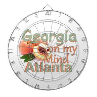 GEORGIA DARTBOARD WITH DARTS