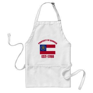 Georgia design adult apron