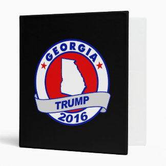 georgia Donald Trump 2016.png 3 Ring Binder