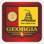 Georgia (DTOM) Pegatina Cuadrada