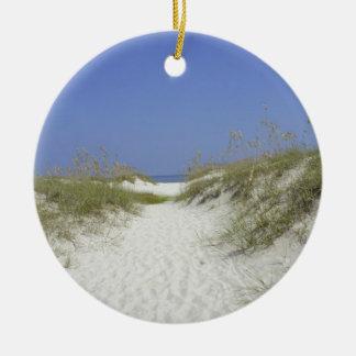 Georgia Dunes Ceramic Ornament