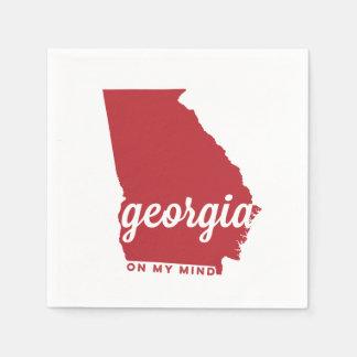 Georgia el | en mi cereza de la mente el | servilletas de papel