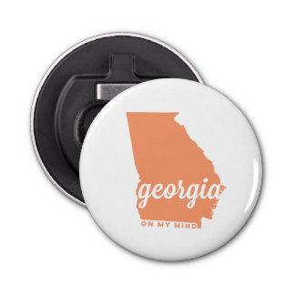 Georgia el | en mi melocotón de la mente el | abrebotellas redondo