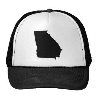 Georgia en blanco y negro gorras de camionero