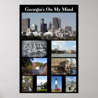 Georgia en mi mente póster