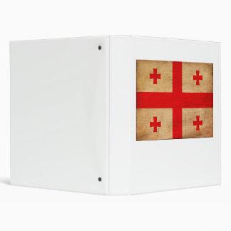 Georgia Flag 3 Ring Binder