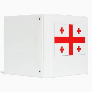 Georgia Flag Binder