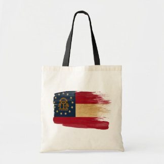 Georgia Flag Canvas Bags