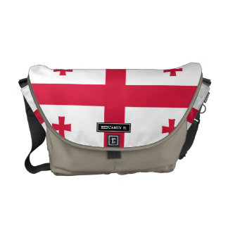 Georgia Flag Courier Bag