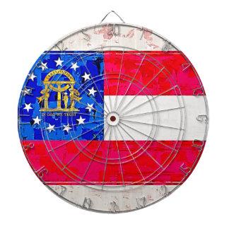 GEORGIA FLAG DART BOARD