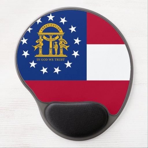 Georgia Flag Gel Mouse Pad