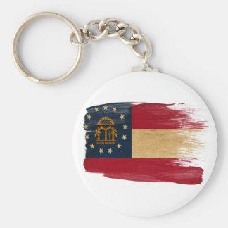 Georgia Flag Keychain