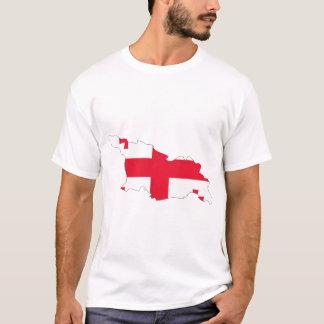 Georgia flag map T-Shirt