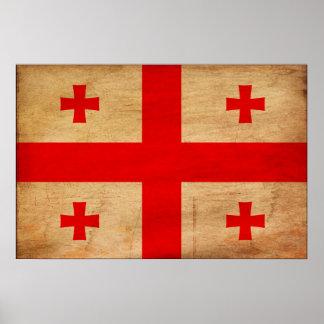 Georgia Flag Poster