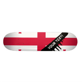Georgia Flag Skateboard Deck