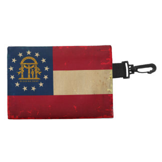 Georgia Flag VINTAGE.png Accessory Bags