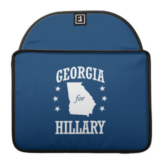 GEORGIA FOR HILLARY SLEEVES FOR MacBooks