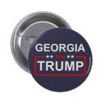 Georgia for Trump Button