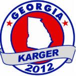 Georgia Fred Karger Photo Cut Out