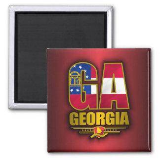 Georgia (GA) 2 Inch Square Magnet