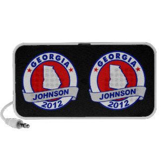 Georgia Gary Johnson Speaker System