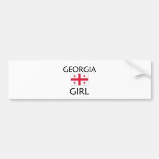 GEORGIA GIRL BUMPER STICKER