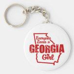 Georgia Girl Key Chain