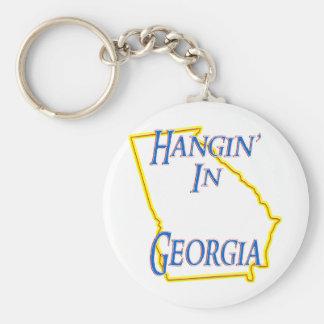 Georgia - Hangin' Keychain