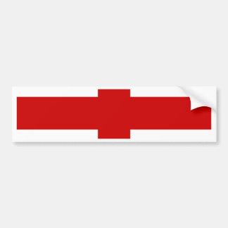 Georgia High quality Flag Bumper Sticker