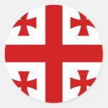 Georgia High quality Flag Stickers