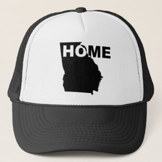 Georgia Home Away From State Ball Cap Trucker Hat