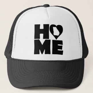Georgia Home Heart State Ball Cap Trucker Hat