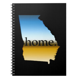 Georgia Home Horizon Notebook